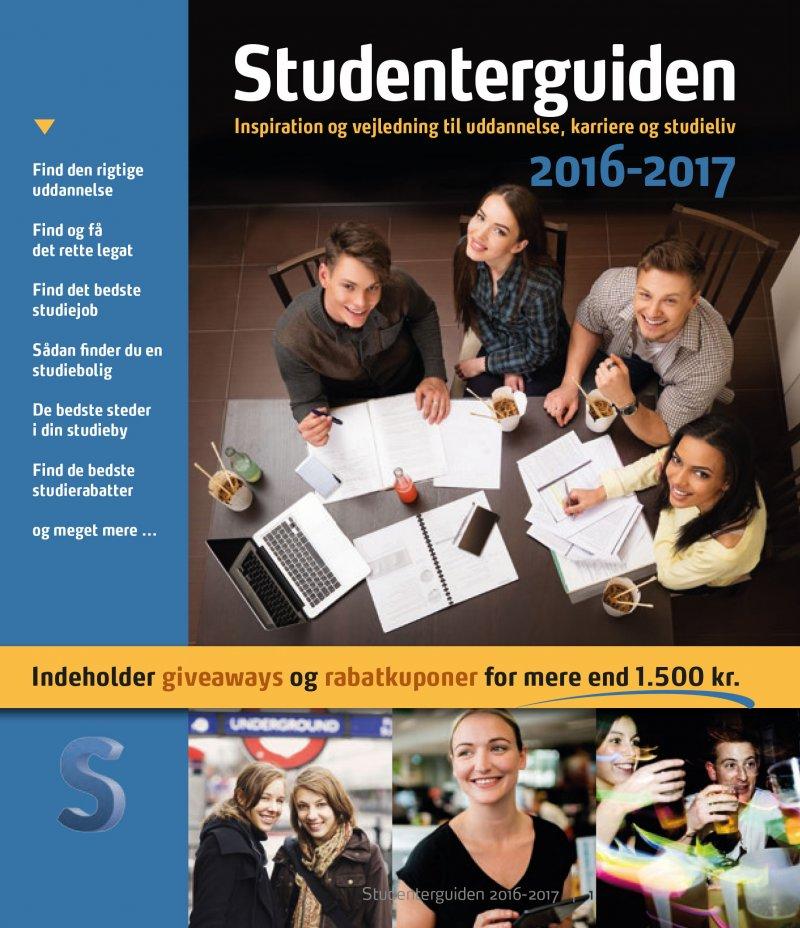 Image of   Studenterguiden 2016/2017 - Bog