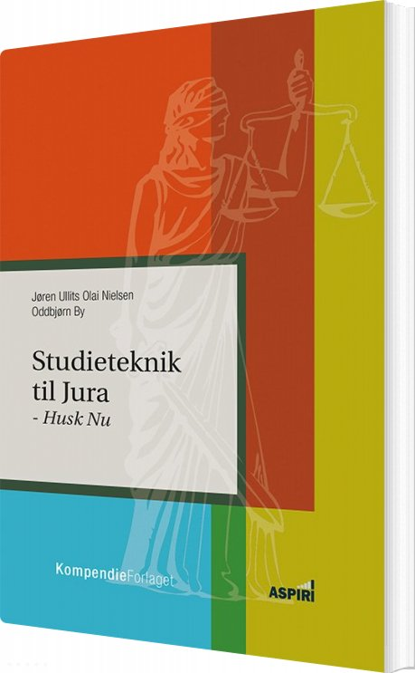 Image of   Studieteknik Til Jura - Jøren Ullits Olai Nielsen - Bog