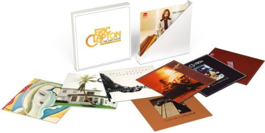 Eric Clapton - Studio Album Collection (9-lp) - Vinyl / LP