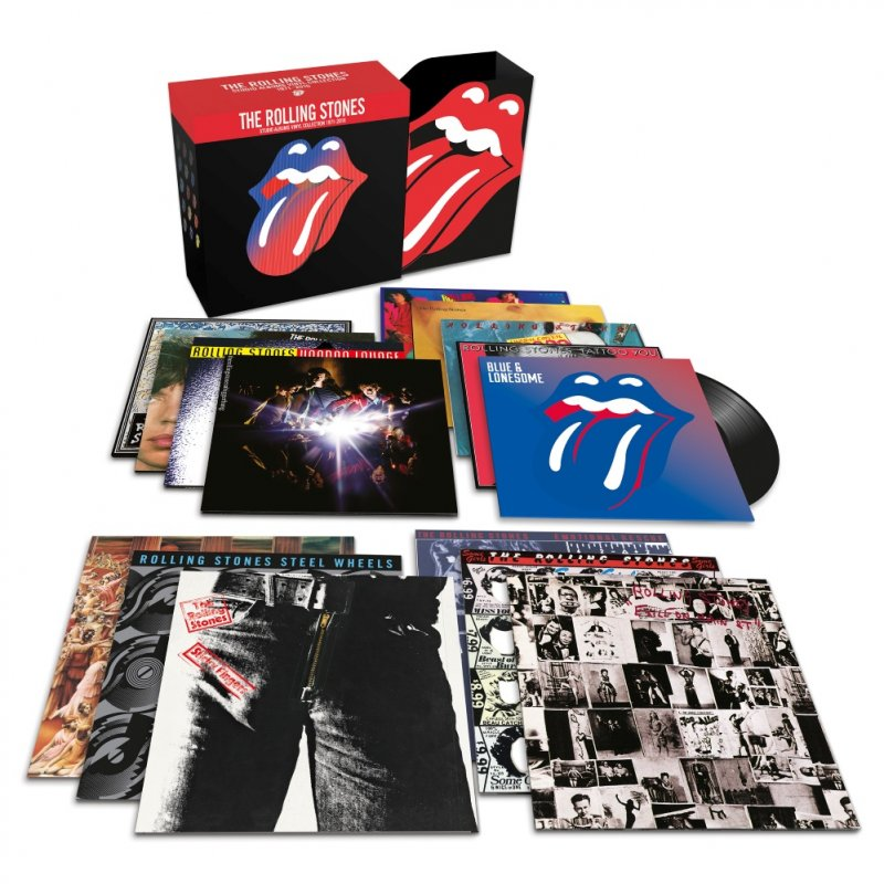 The Rolling Stones - Studio Albums Vinyl Collection 1971 - 2016 (ltd.) - Vinyl / LP
