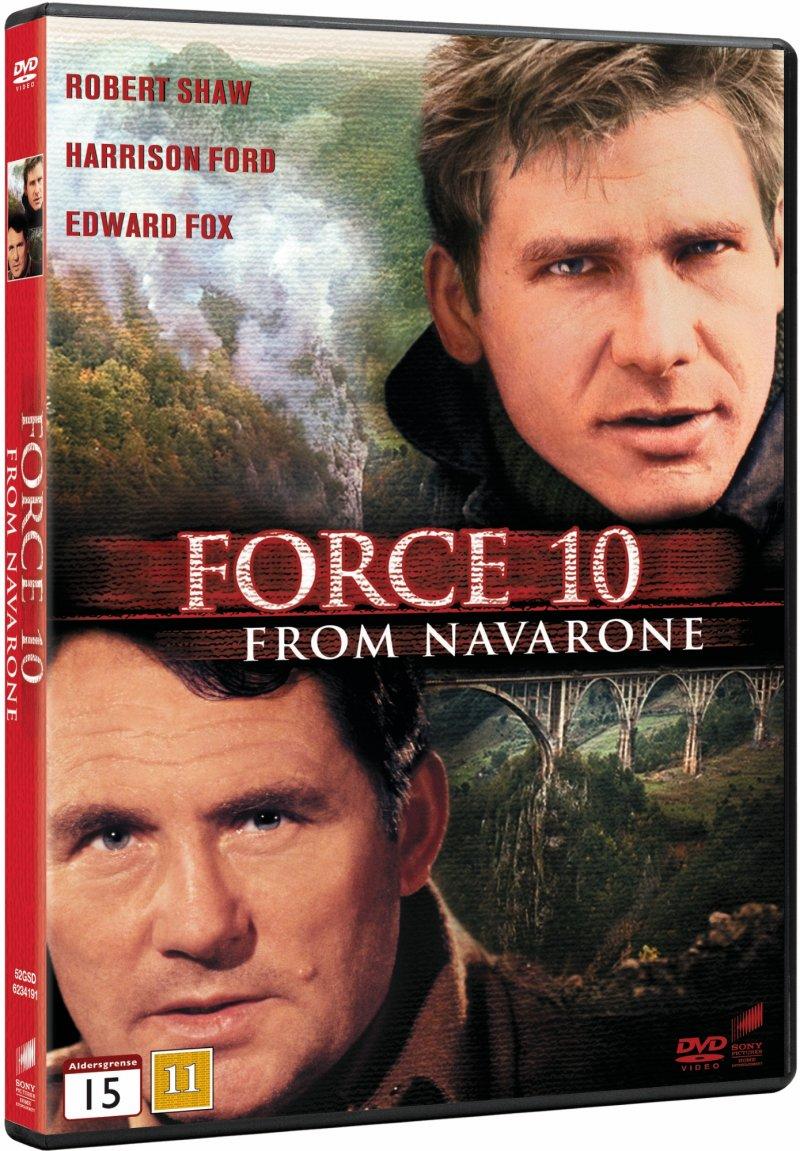 Image of   Styrke 10 Fra Navarone / Force 10 From Navarone - DVD - Film
