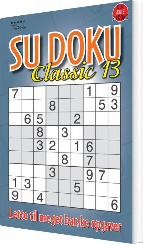 Image of   Sudoku Classic 13 - Pedja - Bog