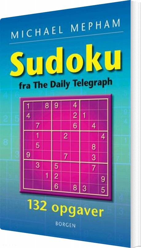 Image of   Sudoku - Michael Mepham - Bog