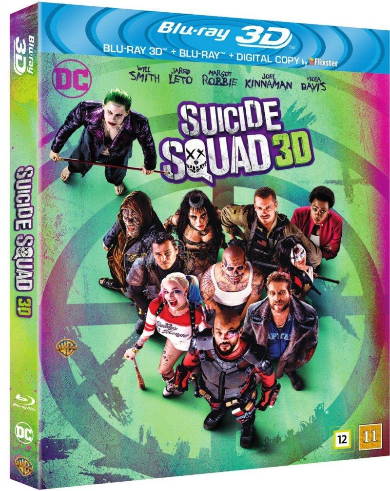 Billede af Suicide Squad - 3D Blu-Ray