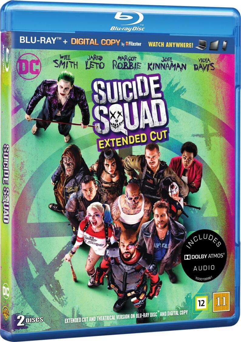 Billede af Suicide Squad - Extended Cut - Blu-Ray