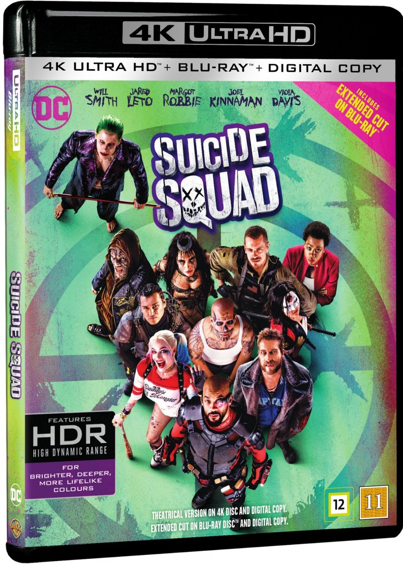 Image of   Suicide Squad - 4K Blu-Ray