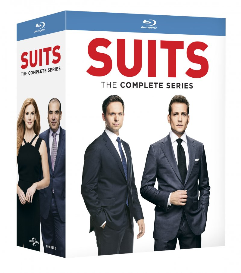 Image of   Suits - Sæson 1 - 9 - Den Komplette Serie - Blu-Ray - Tv-serie