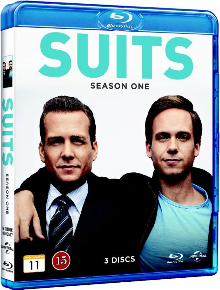 Image of   Suits - Sæson 1 - Blu-Ray - Tv-serie