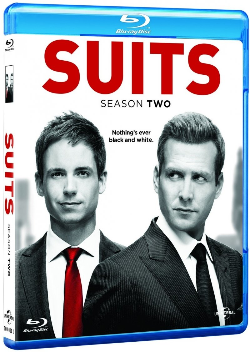 Image of   Suits - Sæson 2 - Blu-Ray - Tv-serie