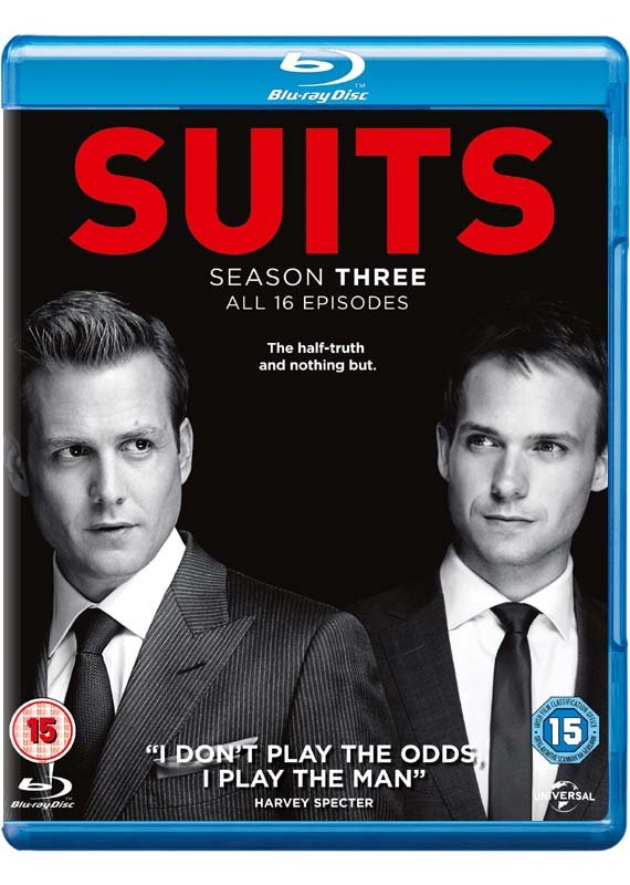 Suits - Sæson 3 - Blu-Ray - Tv-serie