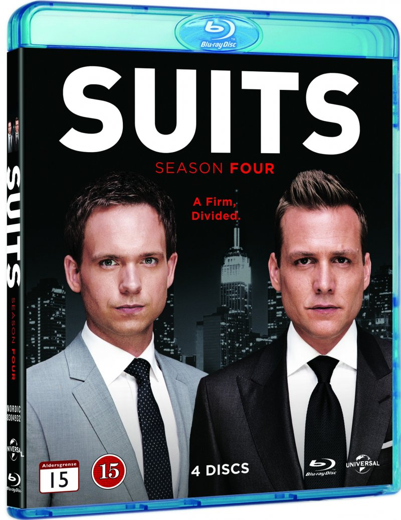 Suits - Sæson 4 - Blu-Ray - Tv-serie