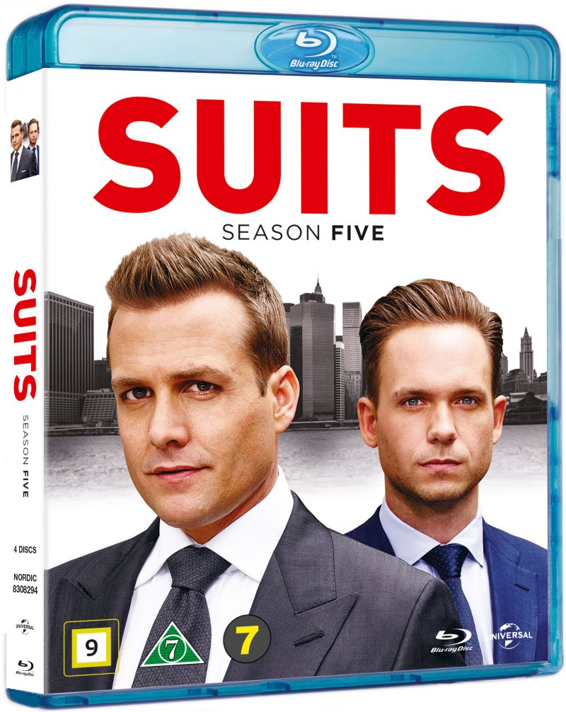 Image of   Suits - Sæson 5 - Blu-Ray - Tv-serie