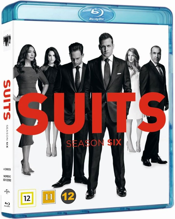 Image of   Suits - Sæson 6 - Blu-Ray - Tv-serie