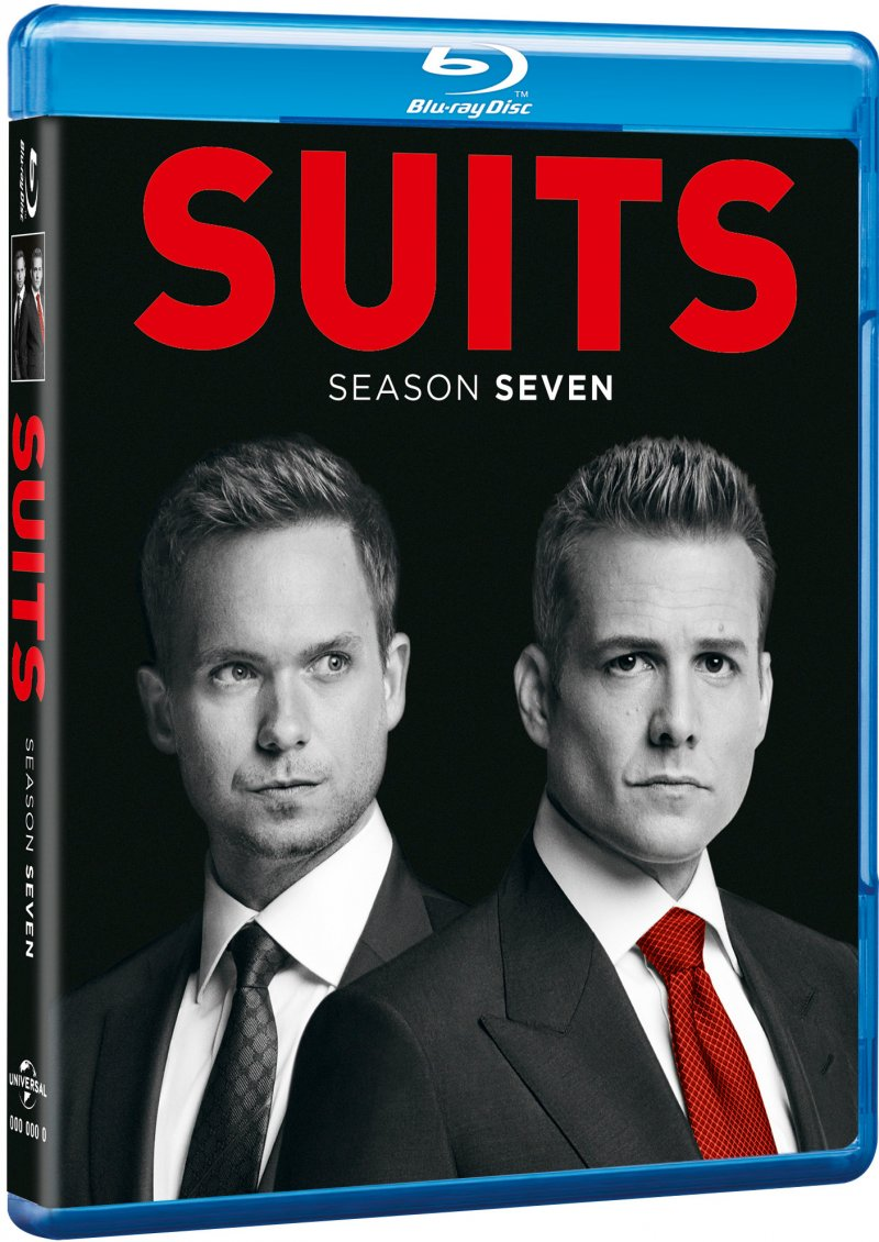 Image of   Suits - Sæson 7 - Blu-Ray - Tv-serie