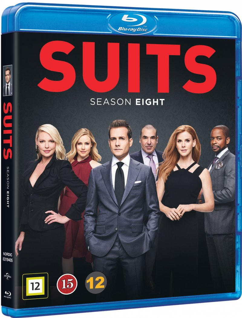 Image of   Suits - Sæson 8 - Blu-Ray - Tv-serie