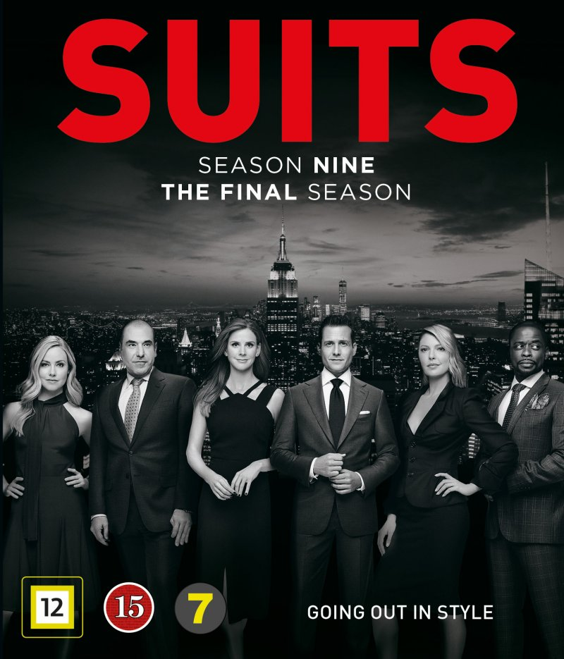 Image of   Suits - Sæson 9 - Blu-Ray - Tv-serie