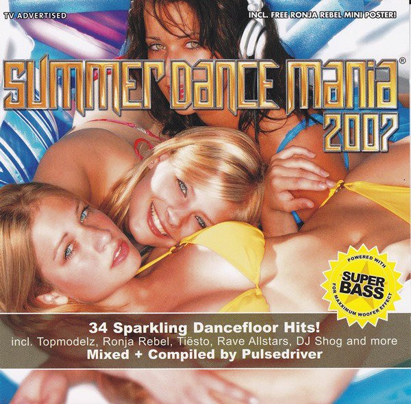 Image of   Summer Dance Mania 2007 - CD