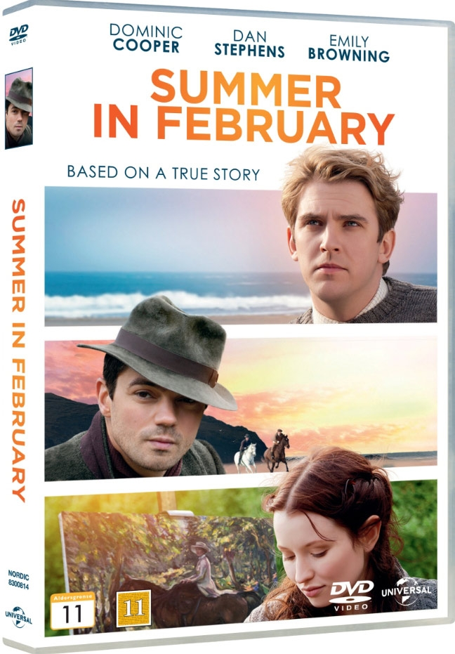 Image of   Summer In February - DVD - Film