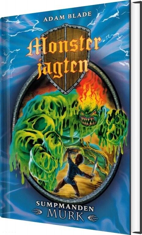 Monsterjagten 34 - Sumpmanden Murk - Adam Blade - Bog