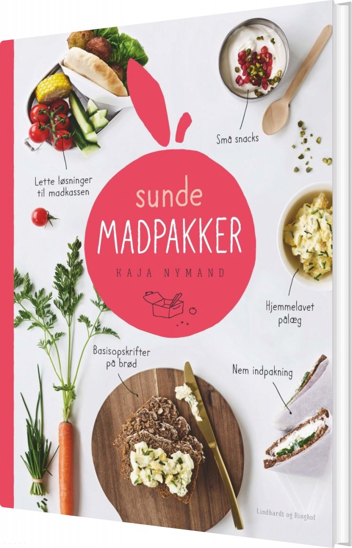 Image of   Sunde Madpakker - Kaja Nymand - Bog