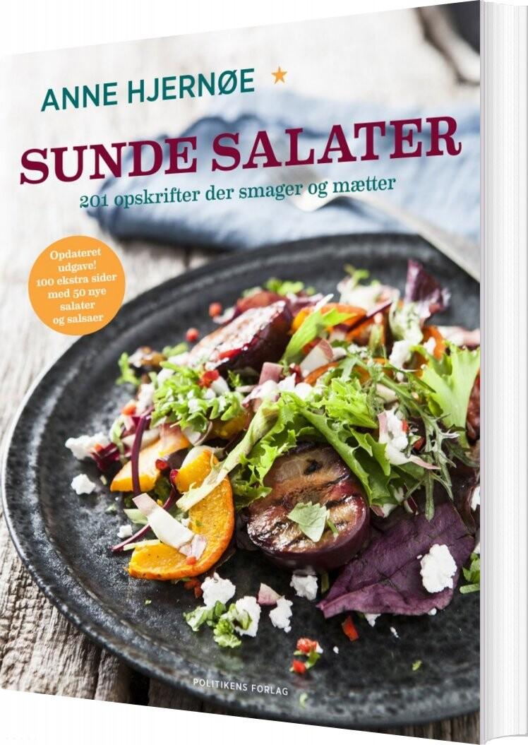 Sunde Salater - Anne Hjernøe - Bog