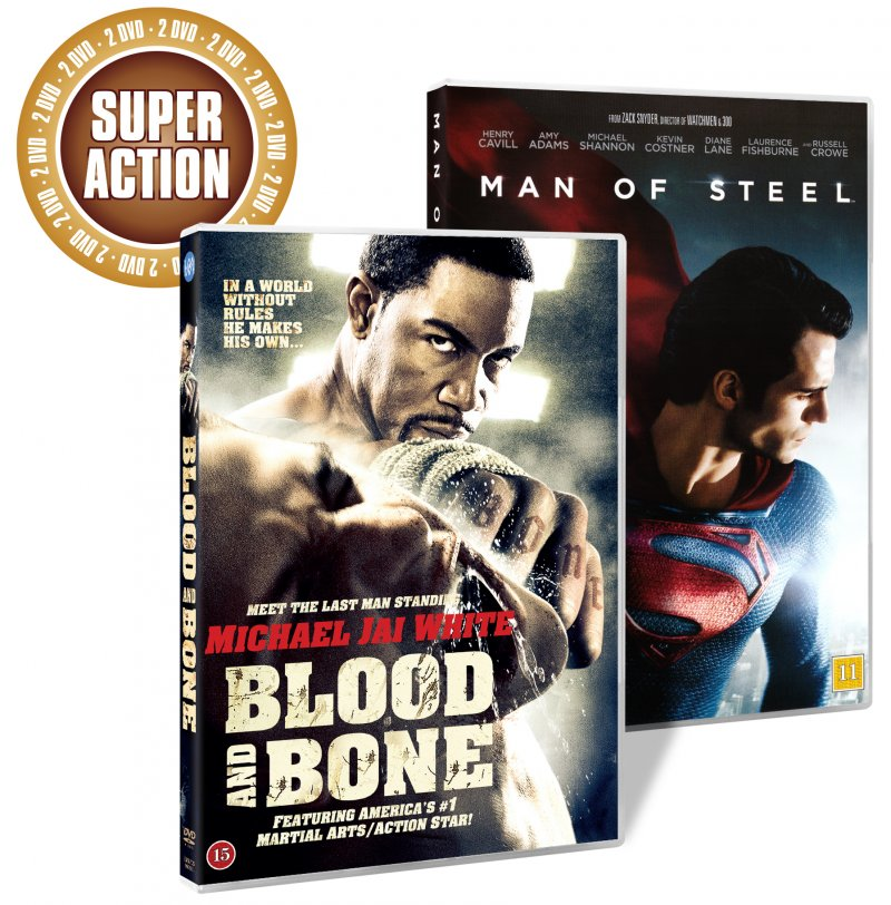 Image of   Blood And Bone // Man Of Steel - DVD - Film