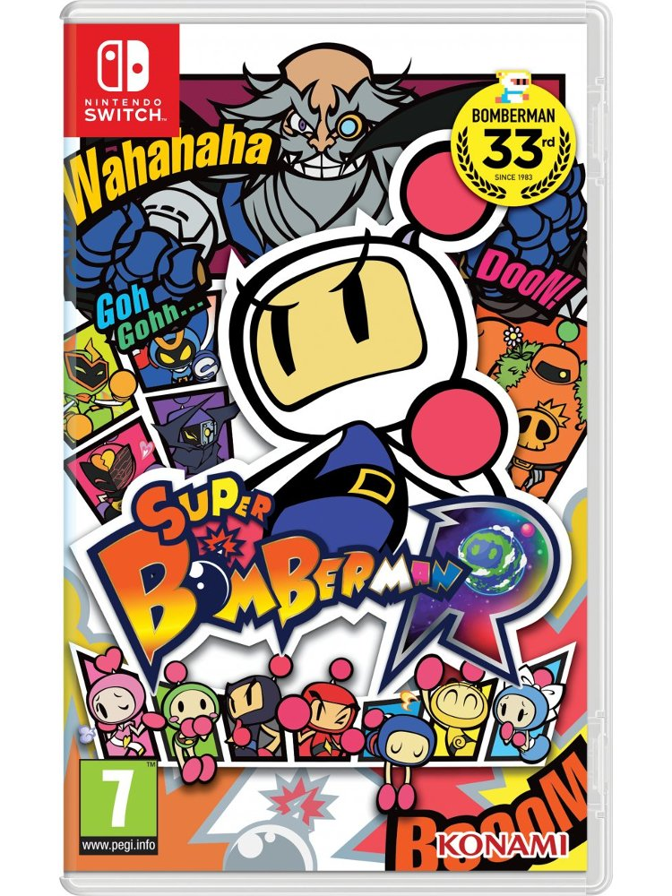 Image of   Super Bomberman R - Nintendo Switch