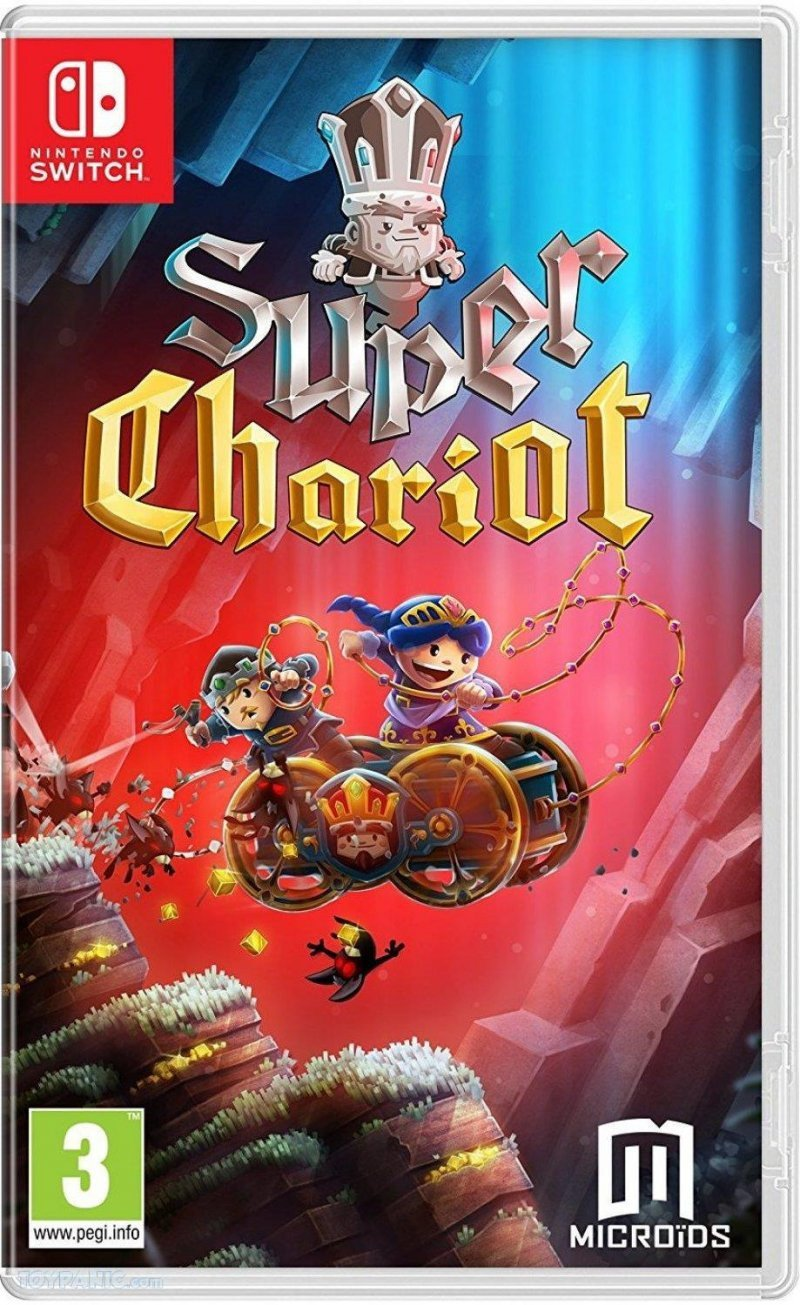 Image of   Super Chariot Replay - Code In A Box - Nintendo Switch