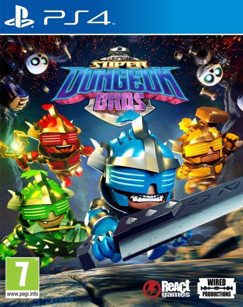 Image of   Super Dungeon Bros - PS4