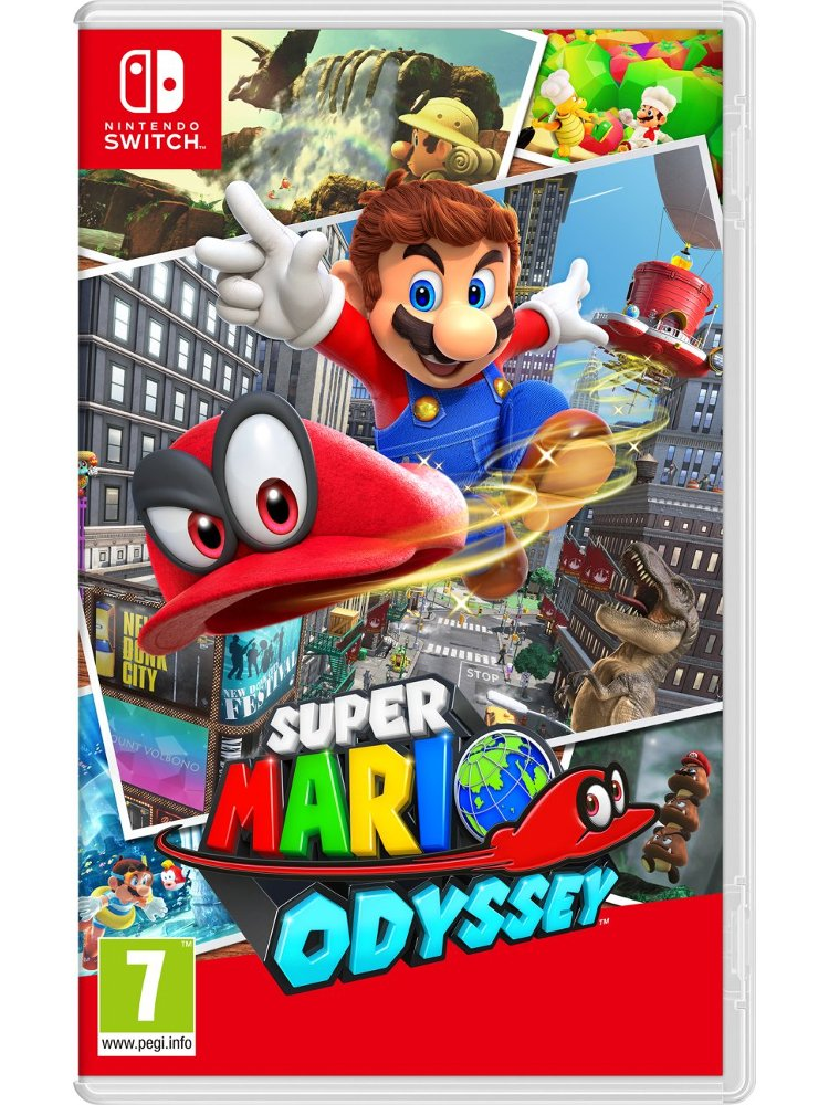 Image of   Super Mario Odyssey (uk, Se, Dk, Fi) - Nintendo Switch