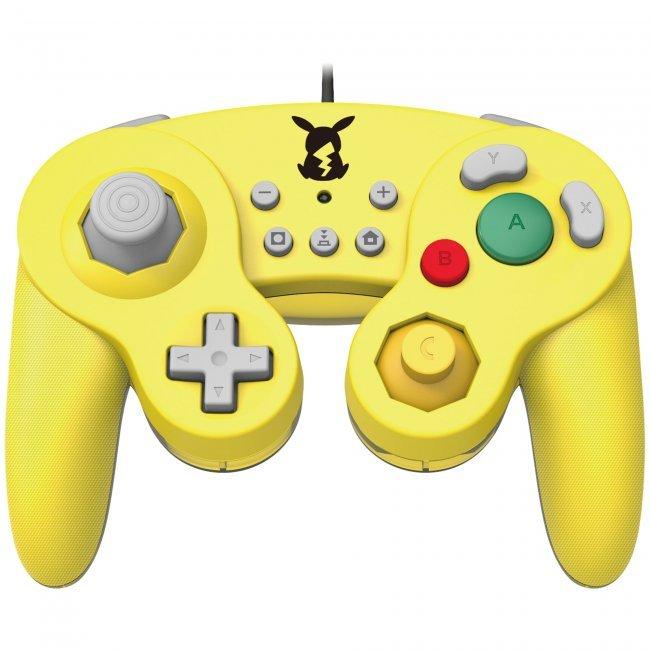 Image of   Nintendo Switch Super Smash Bros Controller - Pikachu