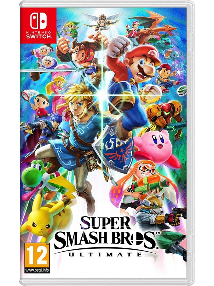 Image of   Super Smash Bros Ultimate - Nintendo Switch