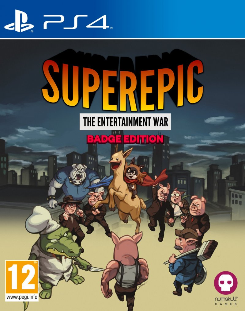 Image of   Superepic - Collector's Edition - PS4