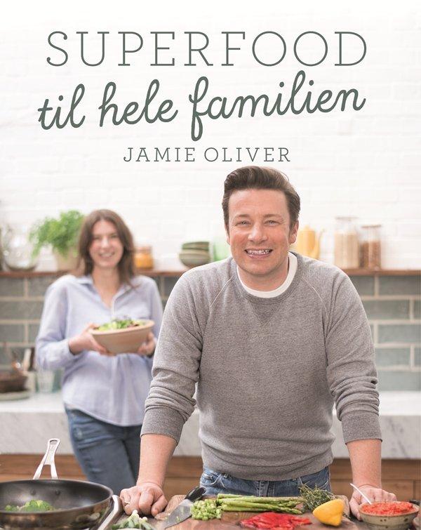 Superfood Til Hele Familien - Jamie Oliver - Bog
