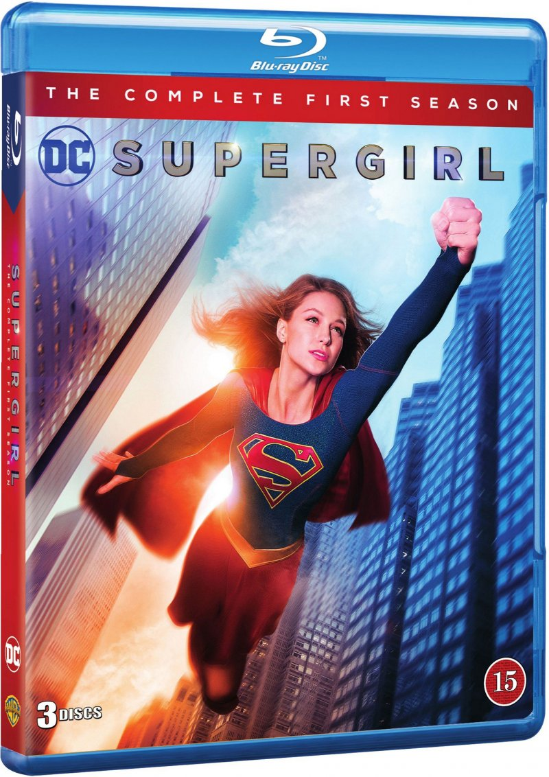 Image of   Supergirl - Sæson 1 - Blu-Ray - Tv-serie