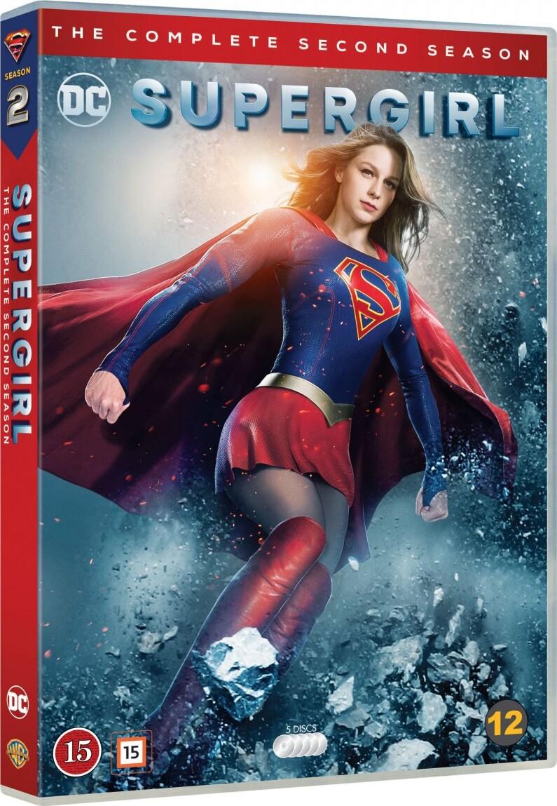 Billede af Supergirl - Sæson 2 - DVD - Tv-serie
