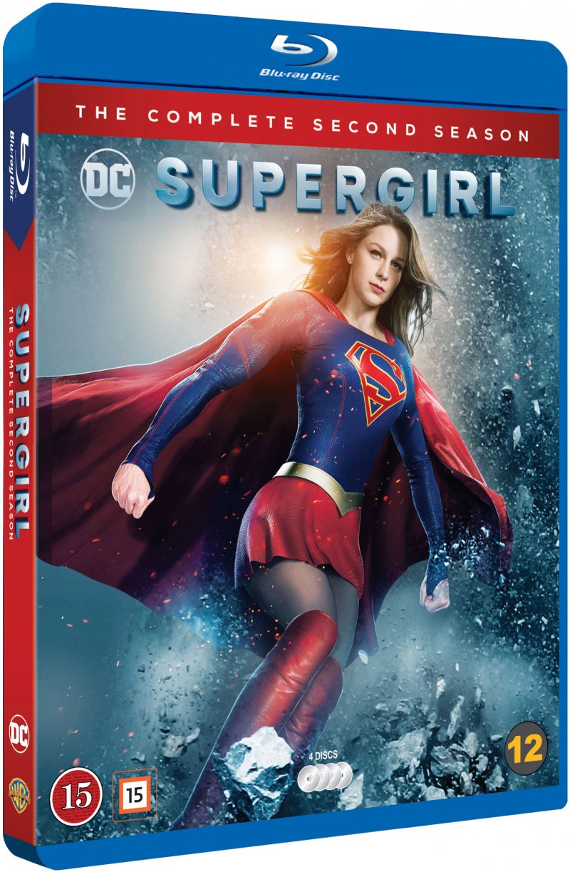 Image of   Supergirl - Sæson 2 - Blu-Ray - Tv-serie