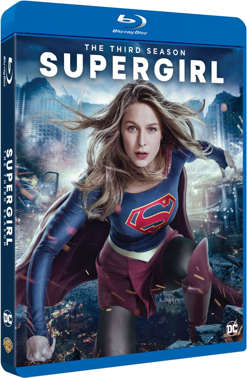 Image of   Supergirl - Sæson 3 - Blu-Ray - Tv-serie