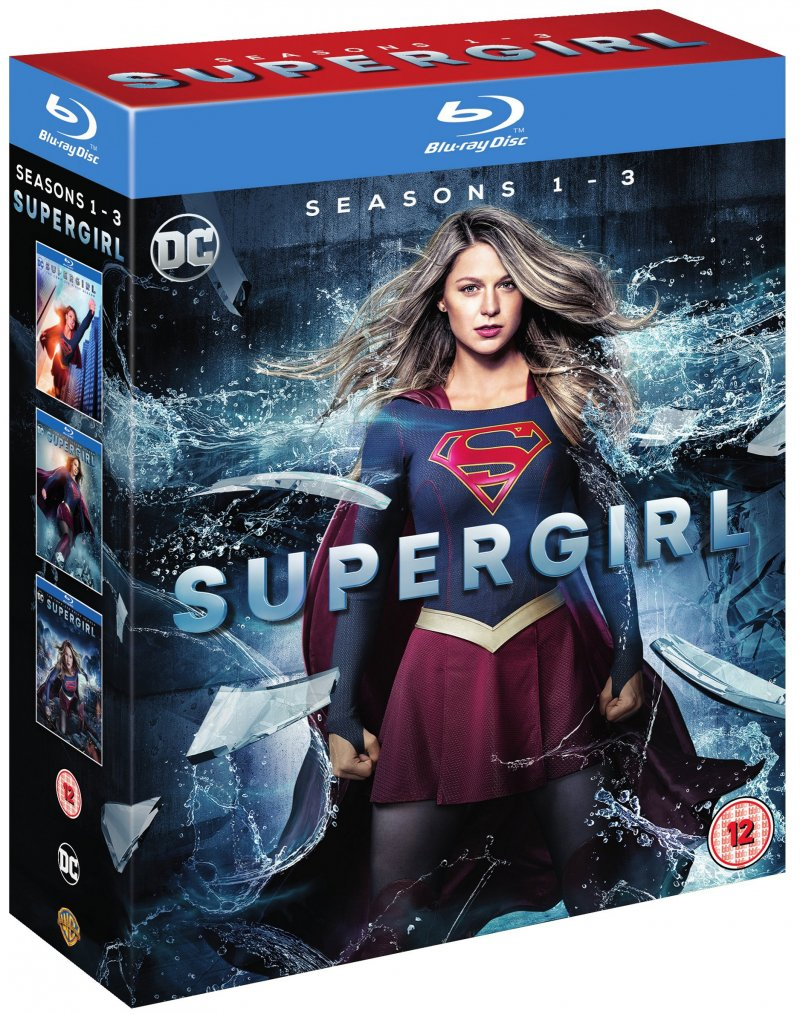 Image of   Supergirl - Sæson 1-3 - Blu-Ray - Tv-serie
