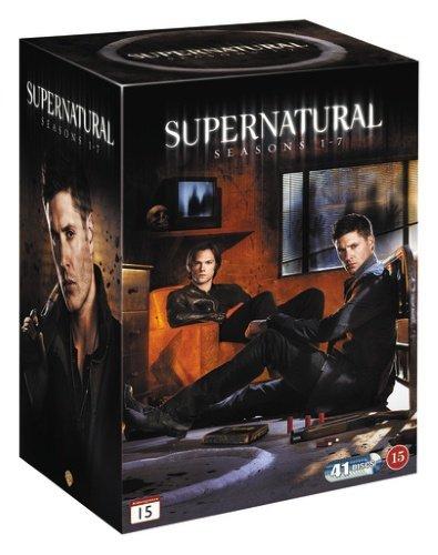 Supernatural - Sæson 1-7 Boks - DVD - Tv-serie