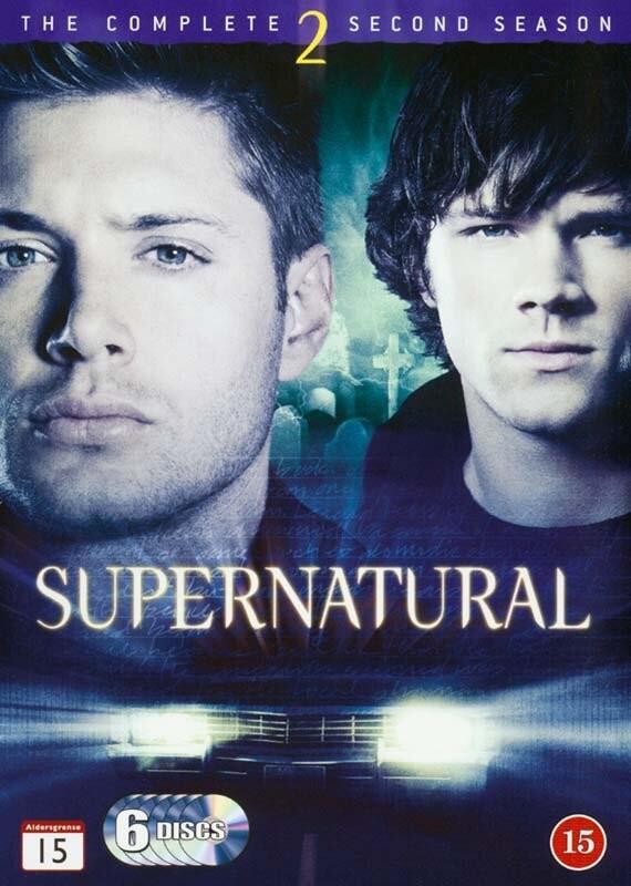 Image of   Supernatural - Sæson 2 - DVD - Tv-serie