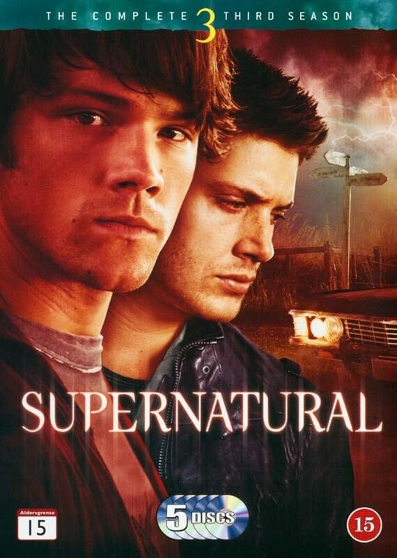 Image of   Supernatural - Sæson 3 - DVD - Tv-serie
