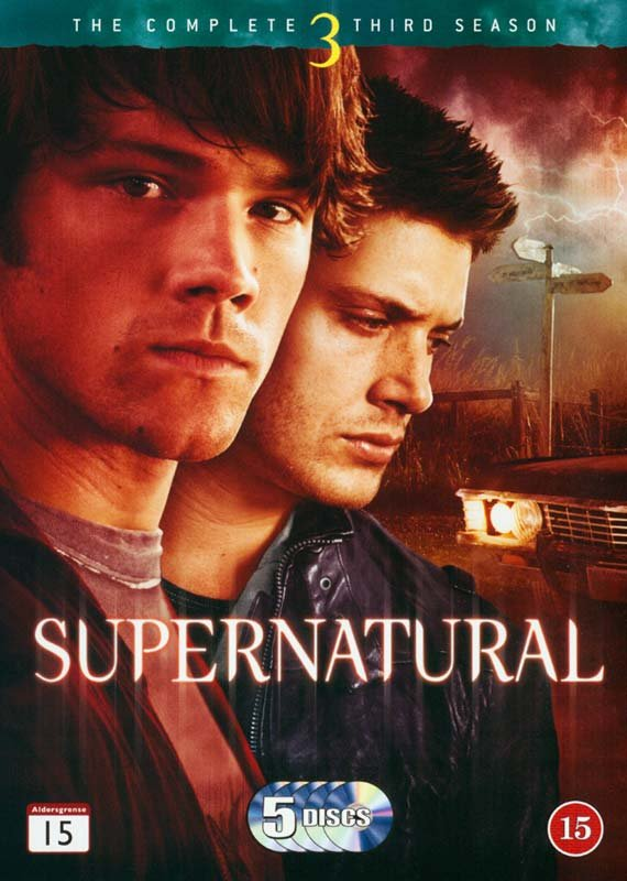 Image of   Supernatural - Sæson 3 - DVD - Tv-serie