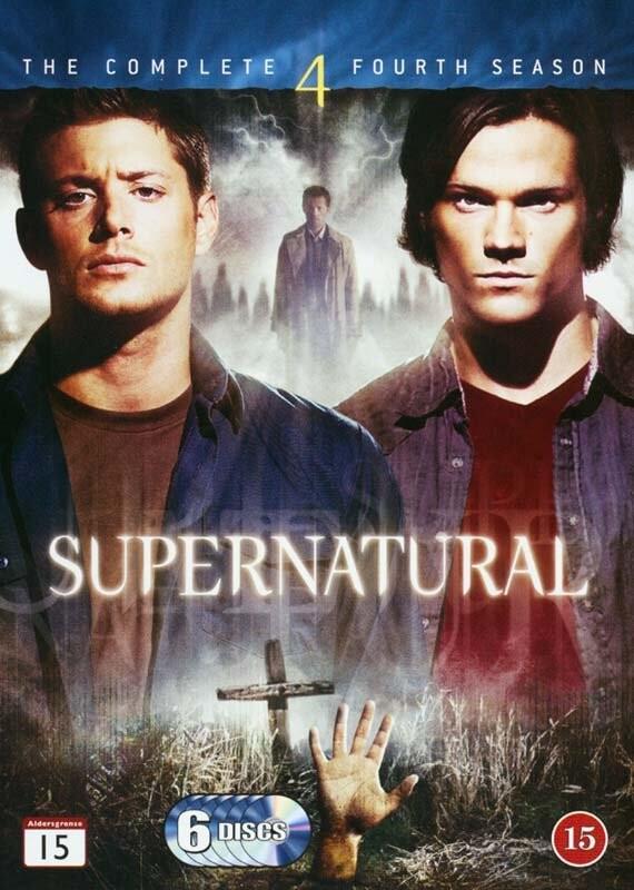 Image of   Supernatural - Sæson 4 - DVD - Tv-serie