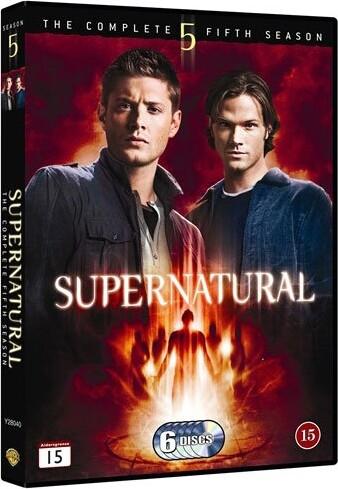 Image of   Supernatural - Sæson 5 - DVD - Tv-serie