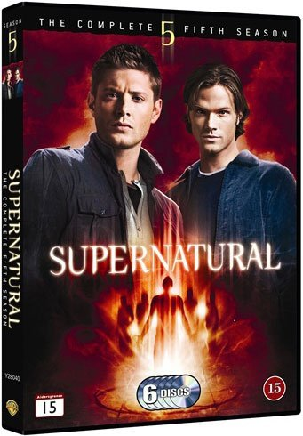Image of   Supernatural - Sæson 5 - DVD - Tv-serie