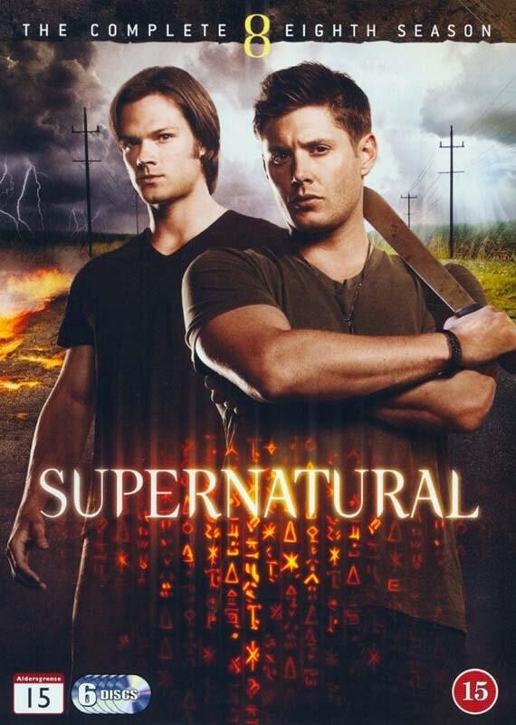 Image of   Supernatural - Sæson 8 - DVD - Tv-serie