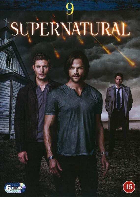 Image of   Supernatural - Sæson 9 - DVD - Tv-serie