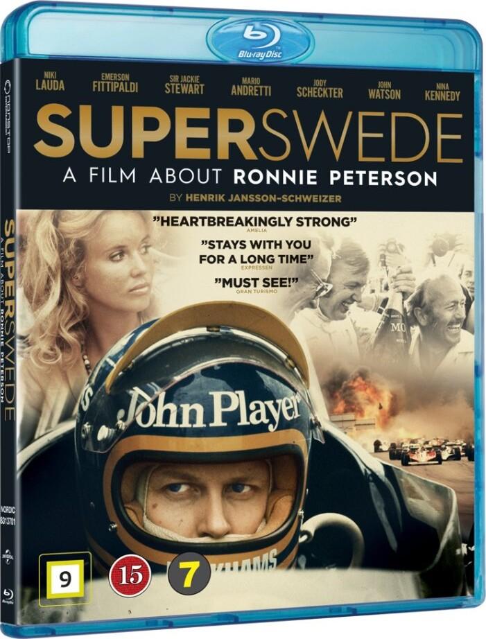Billede af Superswede: En Film Om Ronnie Peterson - Blu-Ray