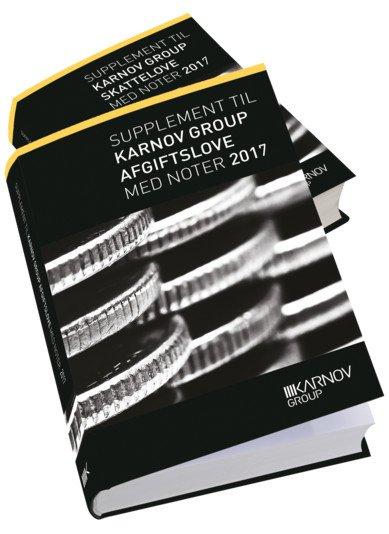 Supplement Til Karnov Group Skatte- Og Afgiftslove 2017 - Karnov Group - Bog